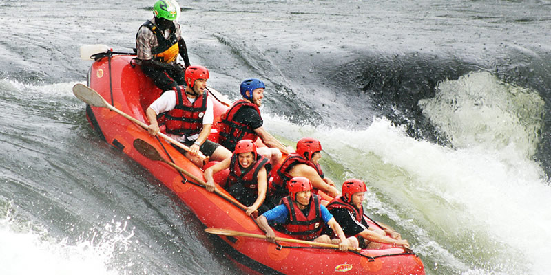 White Water Rafting in Uganda